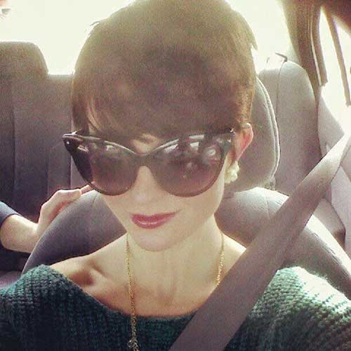 Grownin Pixie Hairstyles 2015