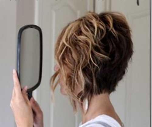 Hair Color for Loose Curly Short Hair