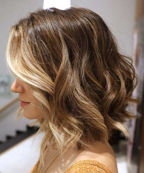 Balyage Short Hair