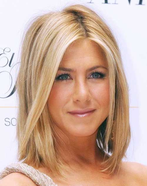 Jennifer Aniston Blonde Highlighted Hair