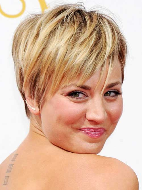 Kaley Cuoco Haircut Trends for 2015