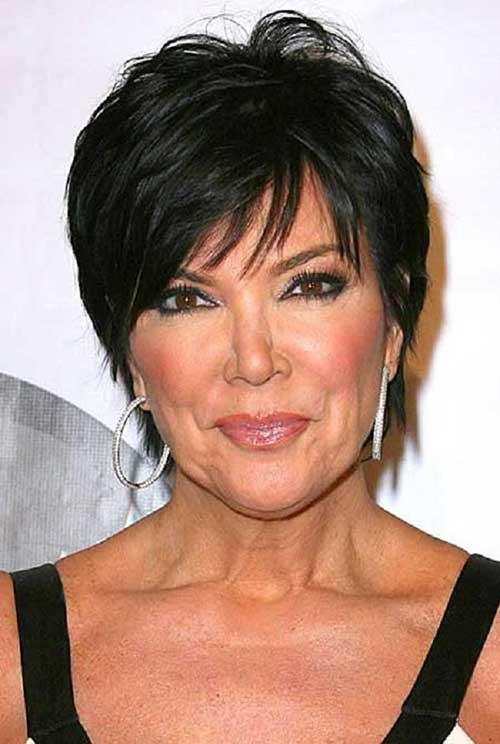 Kris Jenner Hairstyles for Older