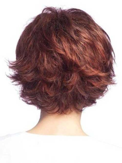 Short Layered Hairstyles Back View Luxury Wodip Com