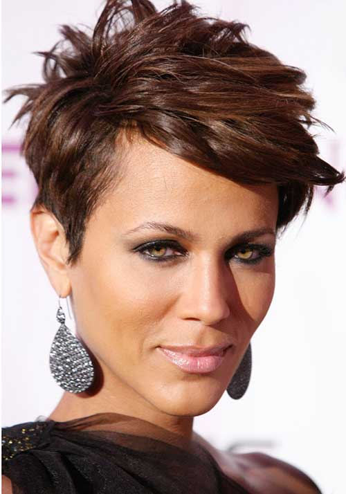 Nicole Ari Parker Short Hairstyles for Black Women