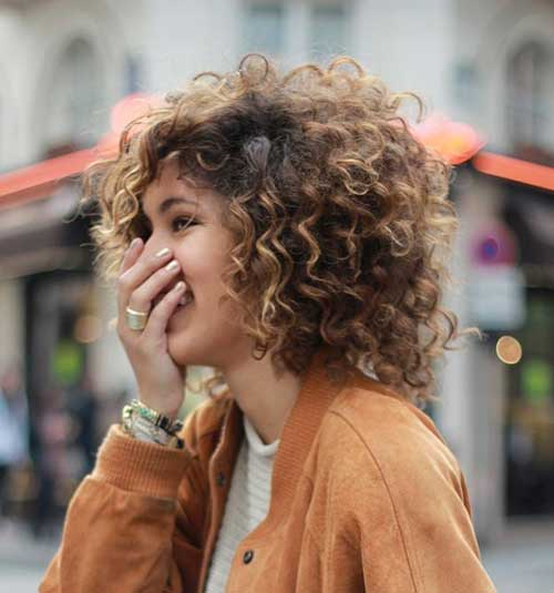 Cute Natural Short Hair Curly