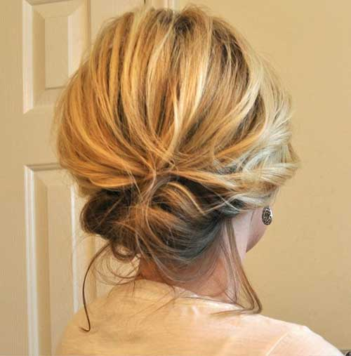 Short Hairstyle Updos Easy