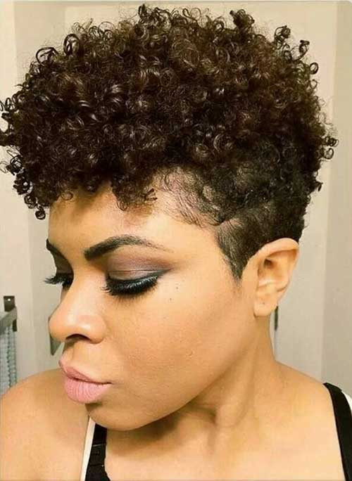 Tapered Short Hairstyles for Black Women