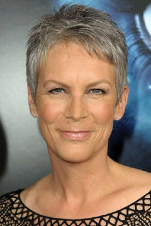 Jamie Lee Curtis Short Hairstyles for Older Women