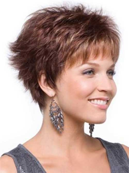 Women Short Shag Hairstyles 2015