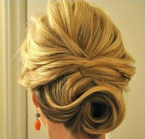 Perfect Simple Updo Trend 2015