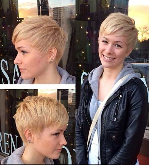 Women Short Pixie Hairstyles 2015
