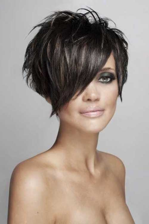 2015 Short Edgy Hair Trends