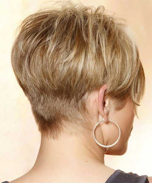 Back of A Pixie Hairstyles