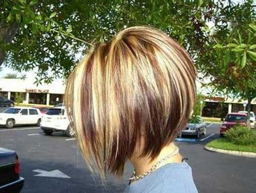 Brown Blonde Bob Hairstyles 2014-2015