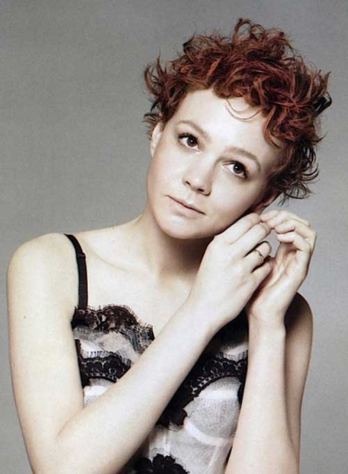 Carey Mulligan Pixie Hair
