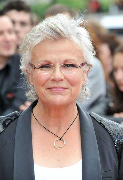Celeb Short Hairstyles for Women Over 60