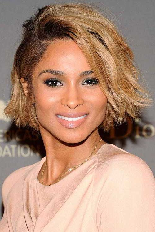 Ciara Blonde Hair with Dark Roots