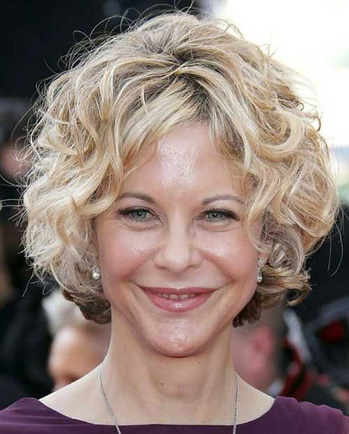 Easy Curly Hairstyles for Older Women