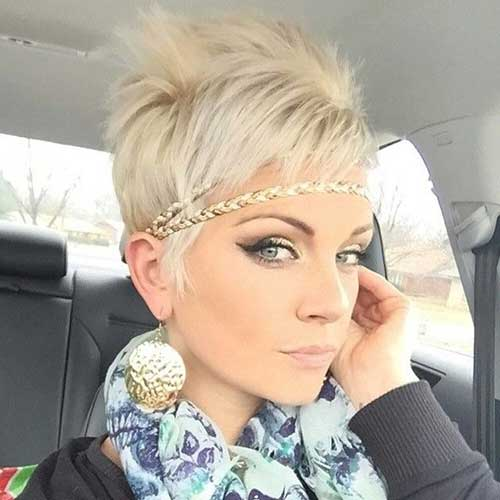 Cute Hairstyles for Spikey Pixie Cuts