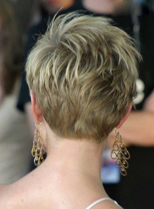 Cute Pixie Cut Back View