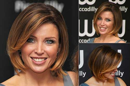 Dannii Minogue Dark Blonde Hairstyles