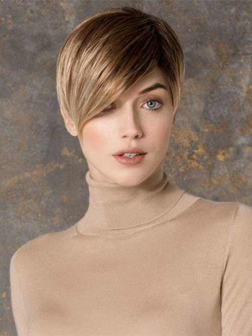 Dark Blonde Pixie Hairstyles