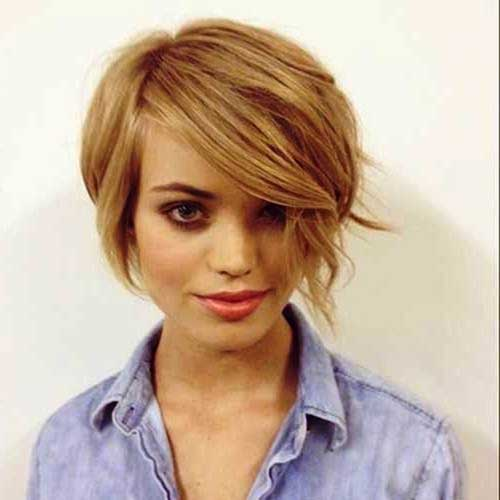 Edgy Blonde Bob Haircuts