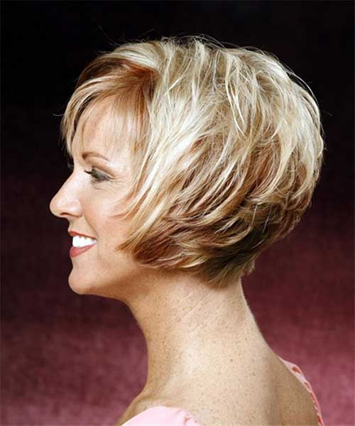 Best Layered Short Hairstyles for Women Over 40