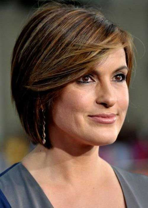 Mariska Hargitay Short Hair for Over 40