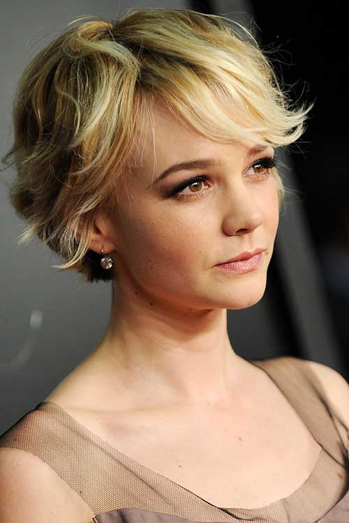 Carey Mulligan Pixie Bob Haircut