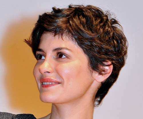 Short Pixie Cut for Thick Wavy Hair