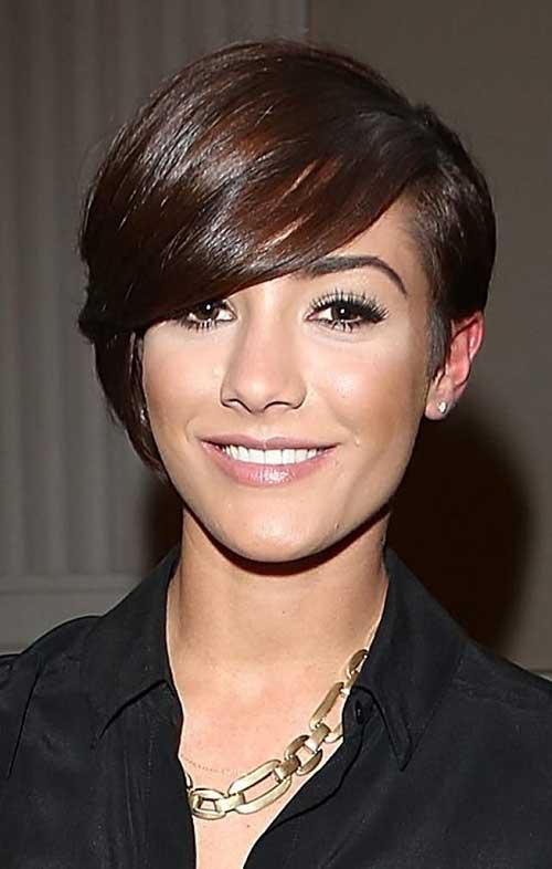 Dark Cute Pixie Haircuts for Women