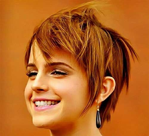Emma Watson Shaggy Pixie