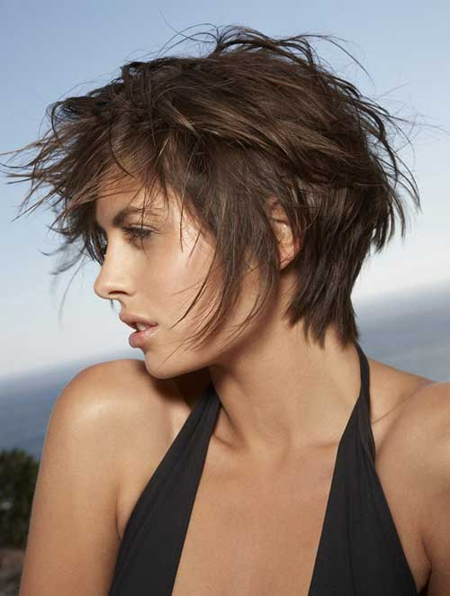 Short Shaggy Bed Head Hairstyles