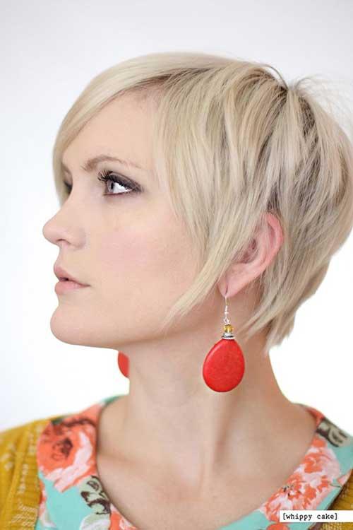 Short Blonde Pixie Cute Cuts