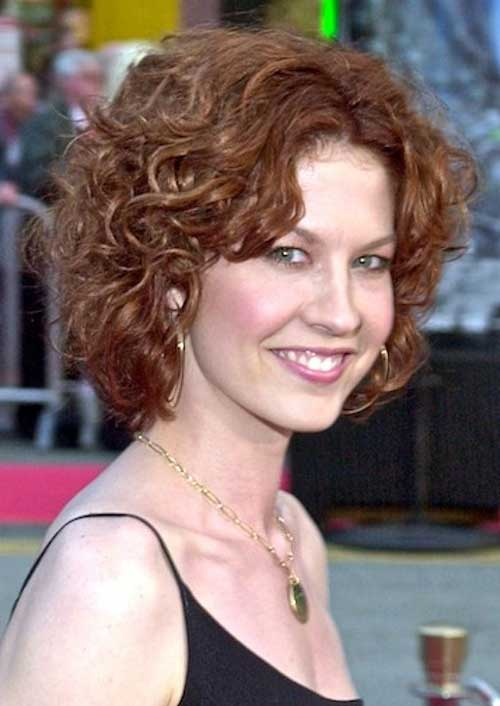 Short Curly Frizzy Hairstyles
