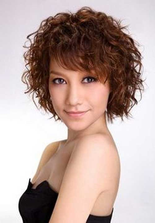 15 Curly Perms For Short Hair Short Curly Hairstyles