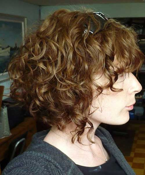 Naturally Look Short Curly Perms