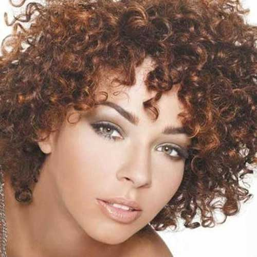Natural Short Curly Weave Hairstyles 2014