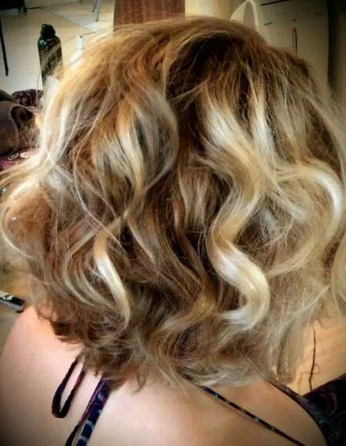Short Curly Hair Color Ideas