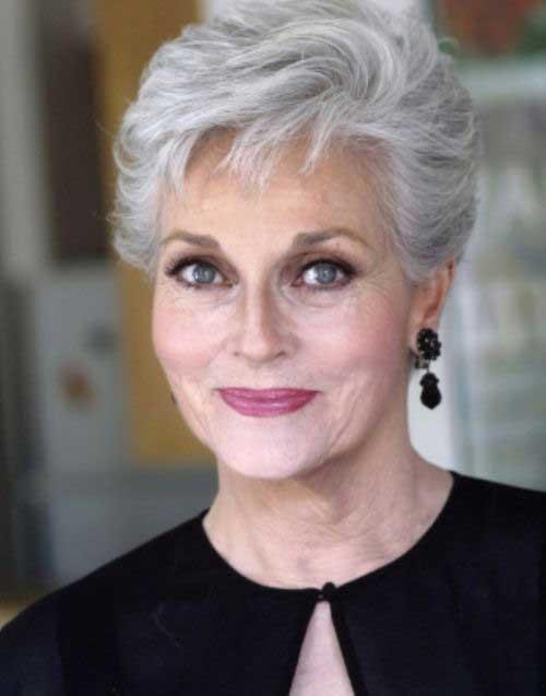 Lee Meriwether Short Hair for Women Over 60