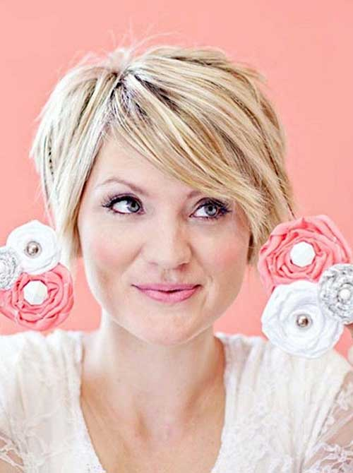 Short Layered Haircuts Ideas for Women Over 40