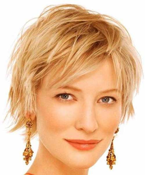Best Short Layered Pixie Idea for Women Over 40