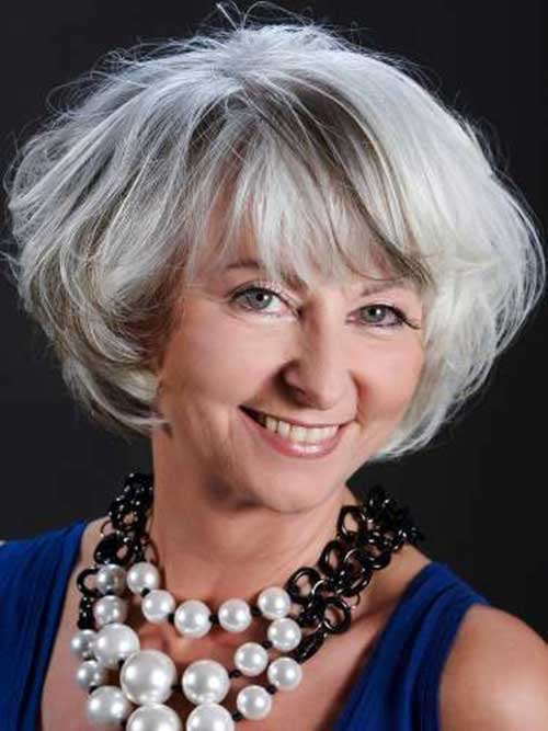 hairstyles for women over 60 with gray hair - HairStyles