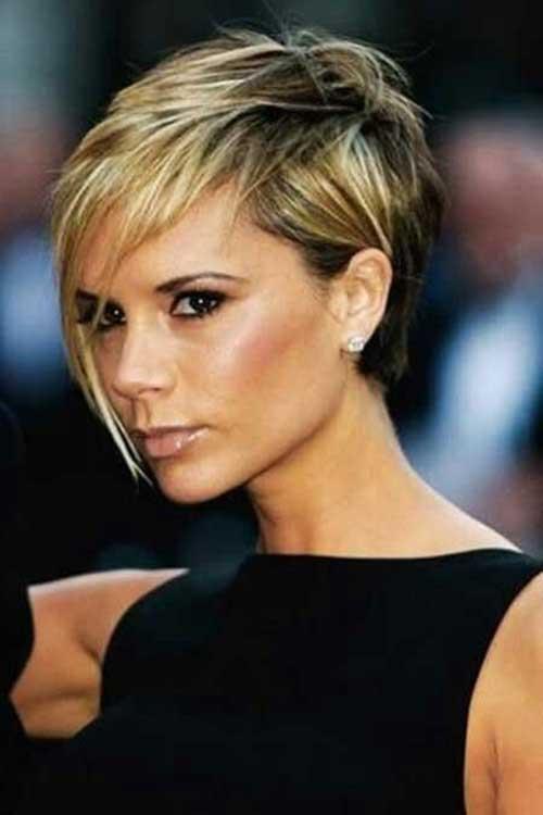Victoria Beckham Dark Blonde Hairstyles