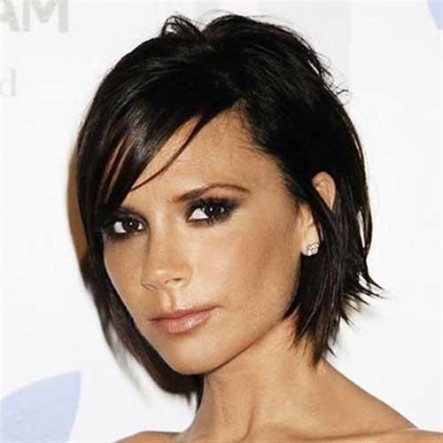 Victoria Beckham Edgy Bob Haircuts