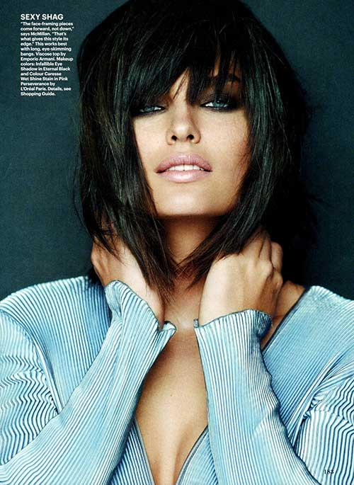 hair styles with short bangs haircuts the best hairstyles for 3372 | Brunette Blunt Bob Haircuts