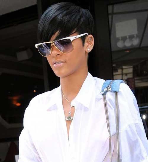Rihanna Pixie Cut-10