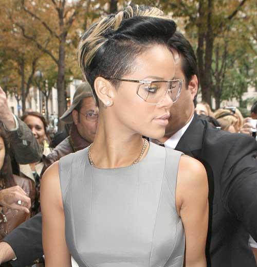 Rihanna Pixie Cut-11