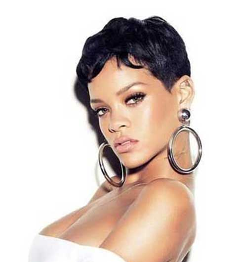 Rihanna Pixie Cut-15